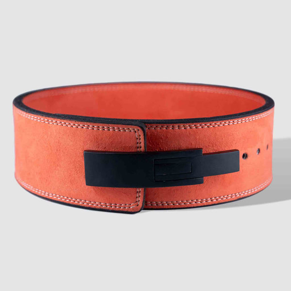 Strength Shop 10mm Lever Belt - IPF Approved - Burnt Orange - Strength Shop USA