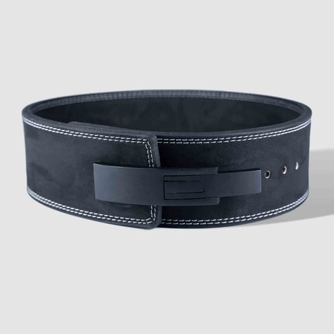 Strength Shop 10mm Lever Belt - IPF Approved - Black - Strength Shop USA