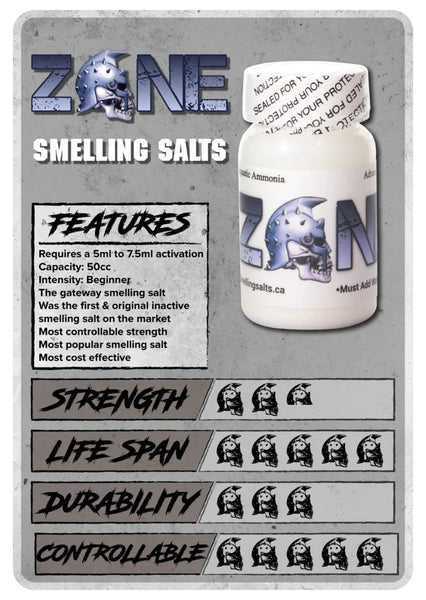 ZONE Smelling Salts - Strength Shop USA