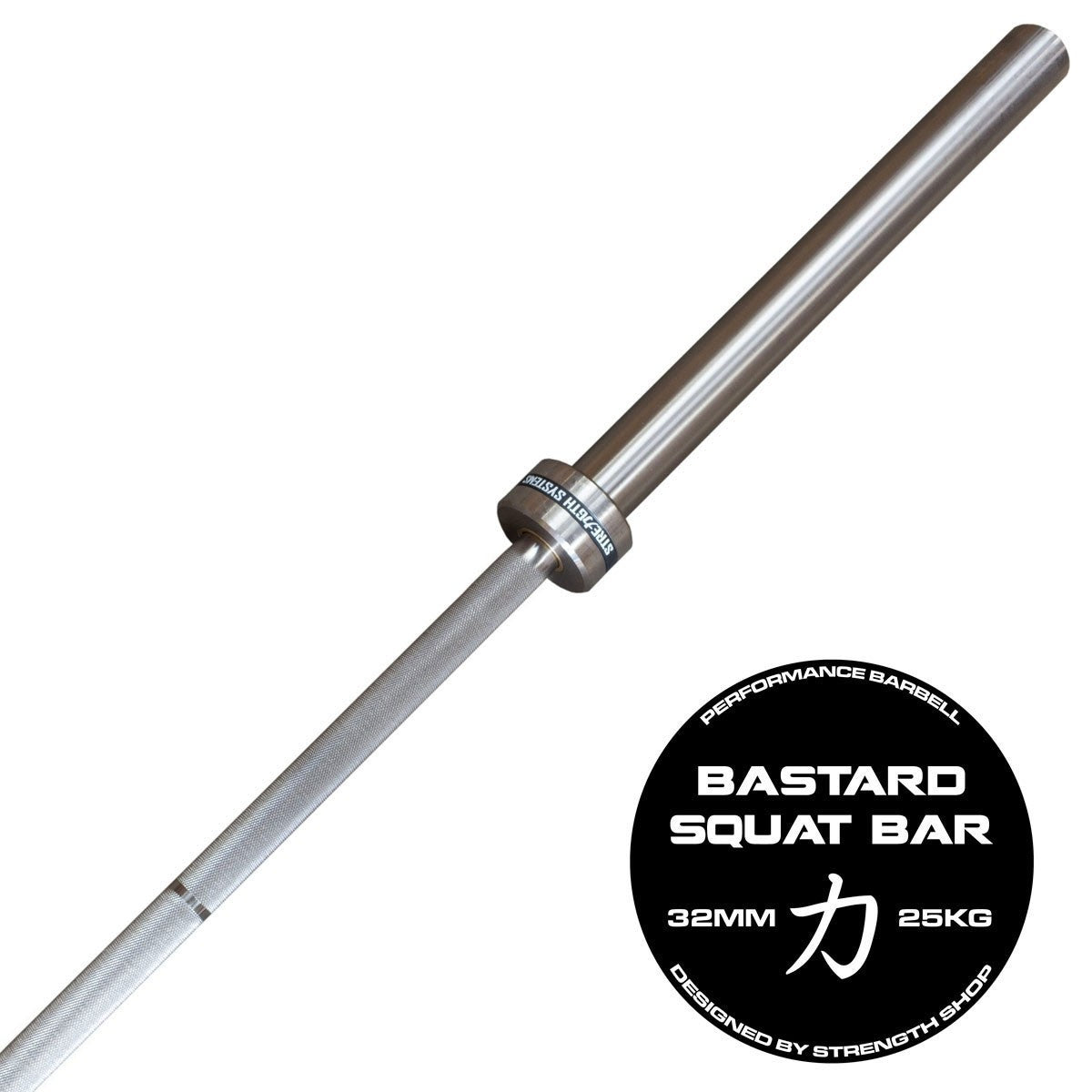 Strength Shop Bastard Squat Bar - FREE SHIPPING - Strength Shop USA