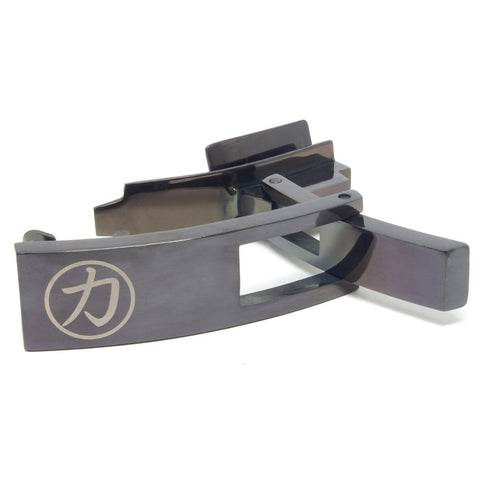 Strength Shop Steel Lever Buckle - Obsidian w/lifetime warranty - Strength Shop USA