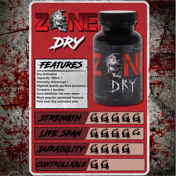 ZONE Dry - Smelling Salts - Strength Shop USA