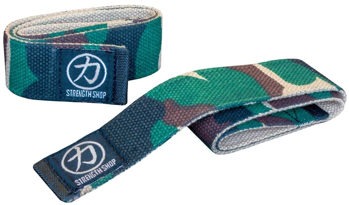 Camo Lifting Straps - Strength Shop USA