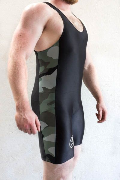 Strength Shop Powerlifting Singlet - Camo - IPF Approved - Strength Shop USA