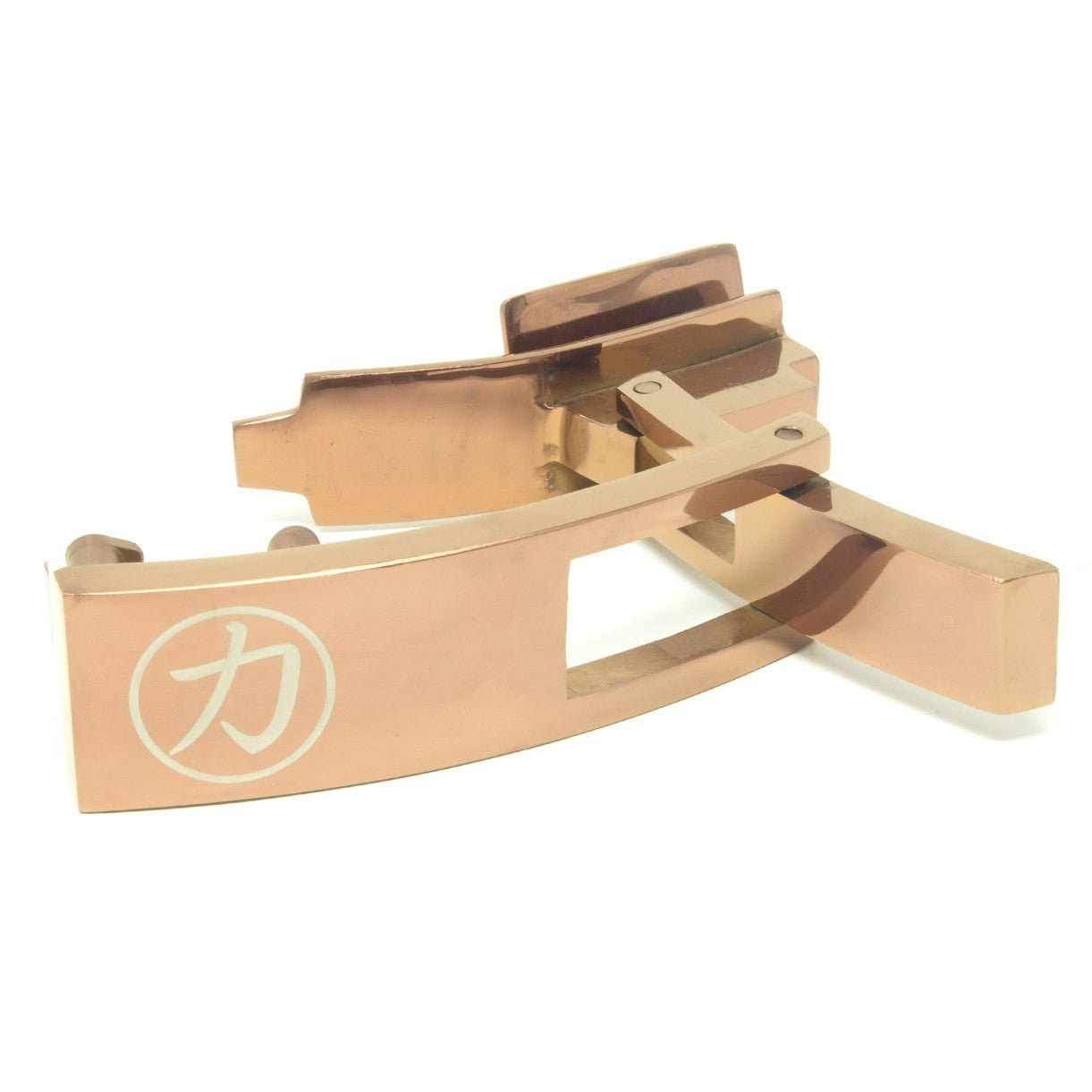 Strength Shop Steel Lever Buckle - Rose Gold w/lifetime warranty - Strength Shop USA