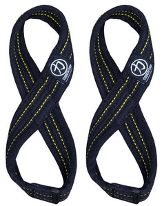 Strength Shop Infinity™ Figure 8 Lifting Straps - Heavy Duty - Strength Shop USA