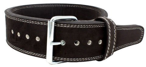 "Strength Shop 10mm Single Prong Belt 3"" Wide - IPF Approved - Black - Strength Shop USA"