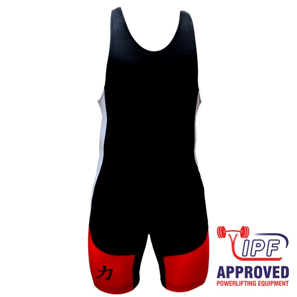 Strength Shop Powerlifting Singlet - Red/Black - IPF Approved - Strength Shop USA