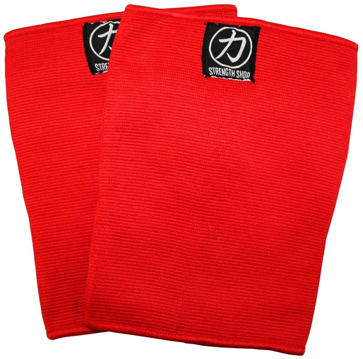 Strength Shop Thor Knee Sleeves - Double Ply - Red - Strength Shop USA
