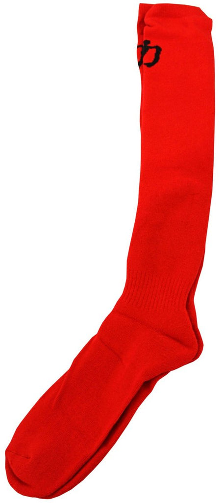 Red High Performance Deadlift Socks Powerlifting IPF Approved