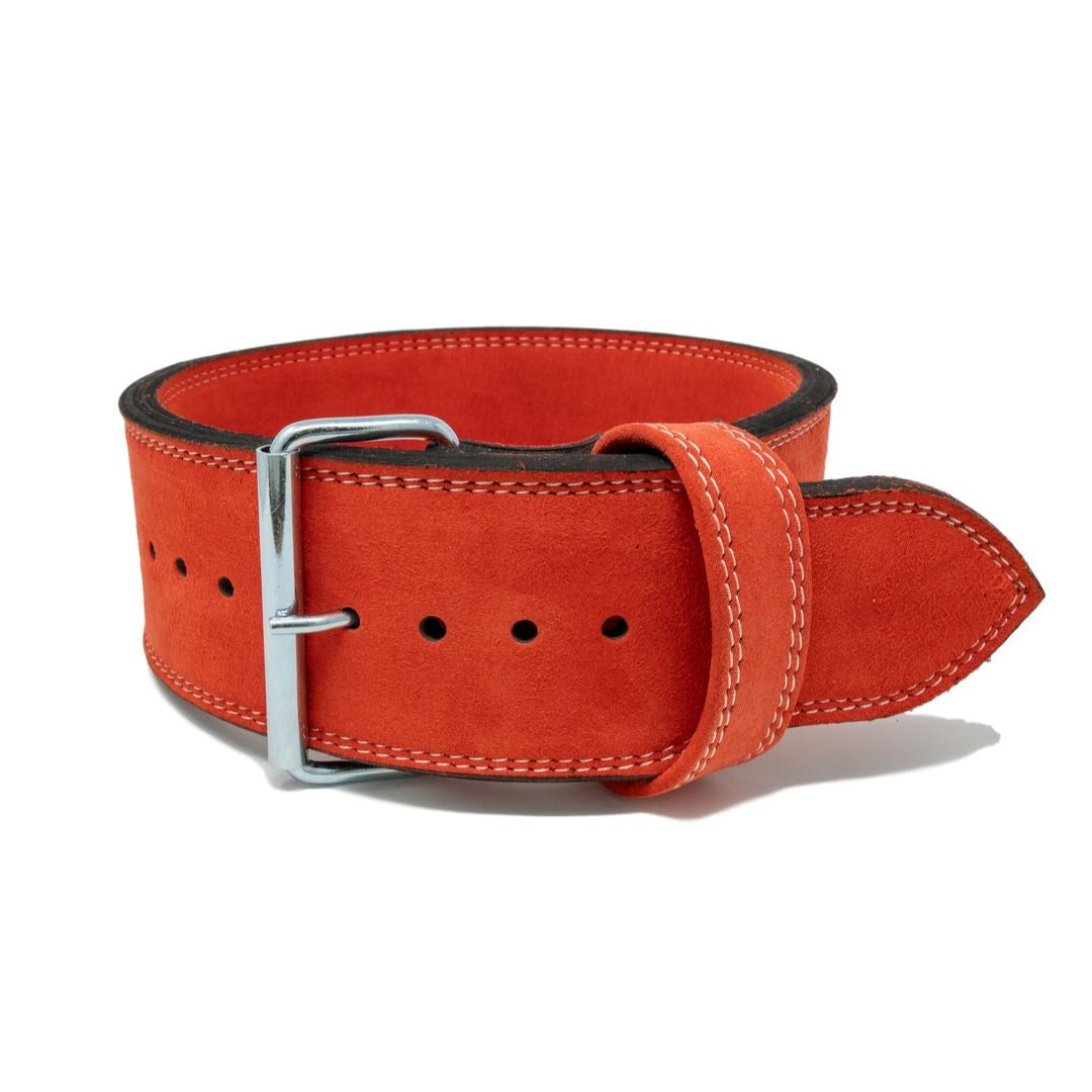Strength Shop 13mm Single Prong Belt - IPF Approved - Red - Strength Shop USA