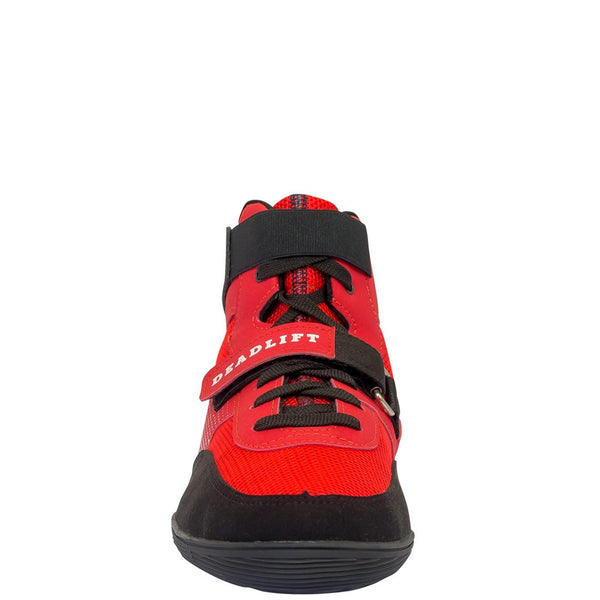 SABO Deadlift Shoes - Red - Strength Shop USA