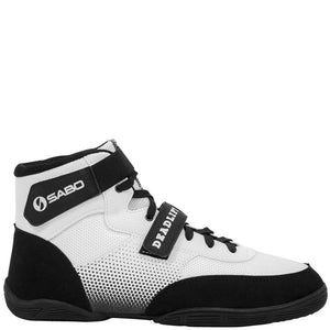 SABO Deadlift Shoes - White - Strength Shop USA