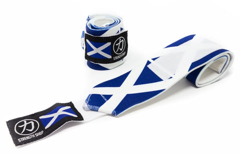 Strength Shop Super Stiff Wrist Wraps - Scotland - IPF Approved - Strength Shop USA