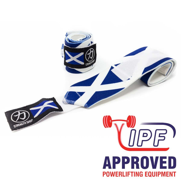 Strength Shop Super Stiff Wrist Wraps - Scotland - IPF Approved