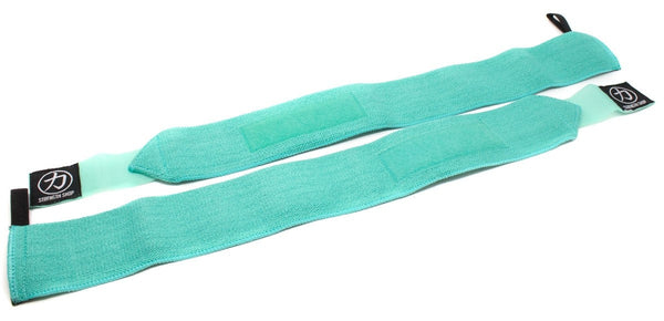 Strength Shop Stiff Wrist Wraps - Teal - IPF Approved - Strength Shop USA
