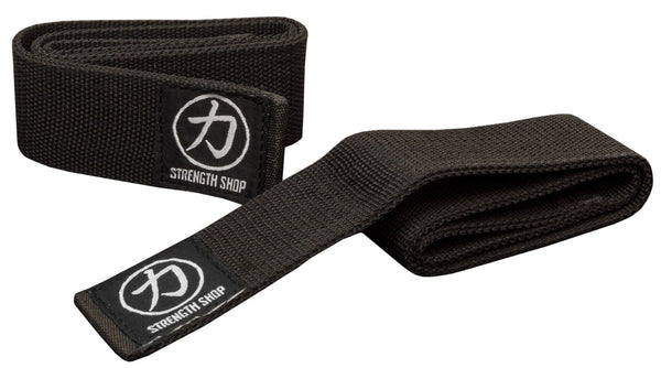 "Strength Shop Extra Wide Lifting Straps - 2"" wide - Strength Shop USA"