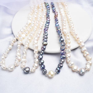 Real White Freshwater Pearl Necklace
