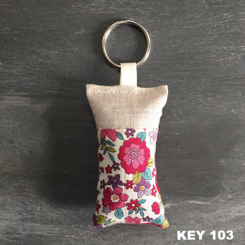 Lavender Key Chains