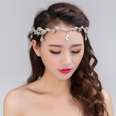 Bridal Silver Head Band