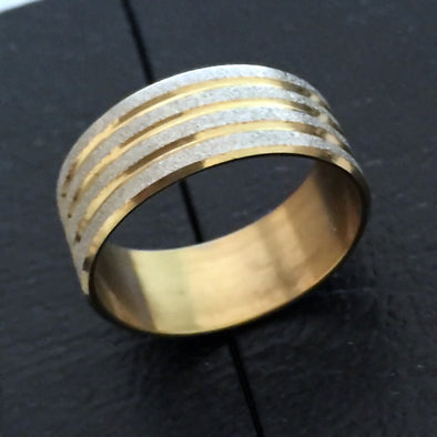 Smooth Stainless Steel Ring