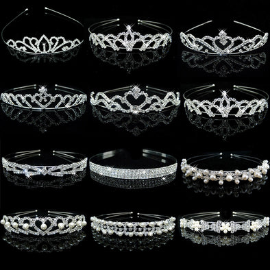 Women's Crystal Tiaras Crowns