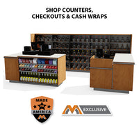Counters, Checkouts & Cash Wraps