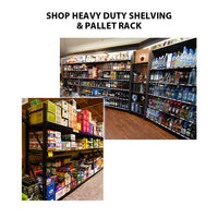 Heavy Duty Shelving, Gondolas & Pallet Rack