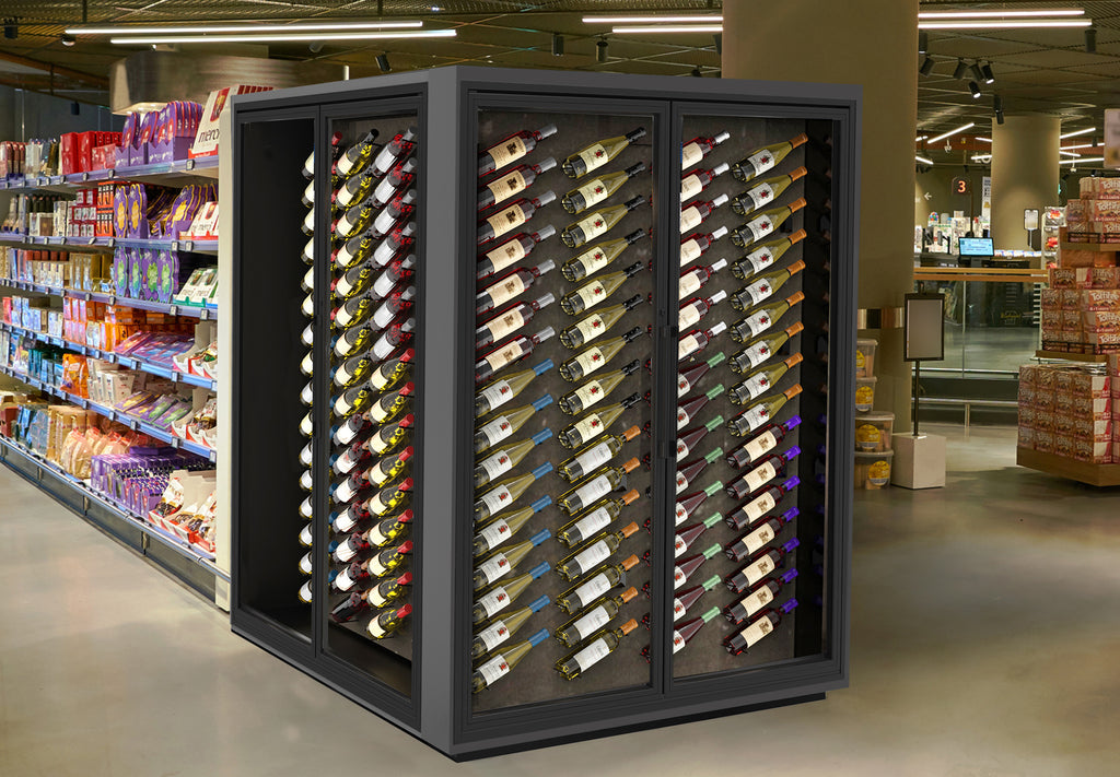 fine wine retail display and store