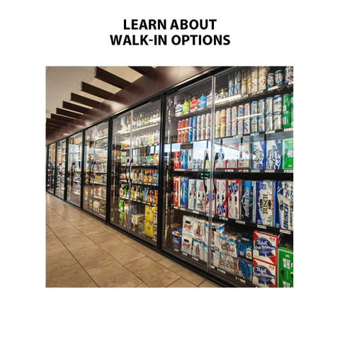 Walk In Coolers Freezers Beer Caves For Sale Modern Store