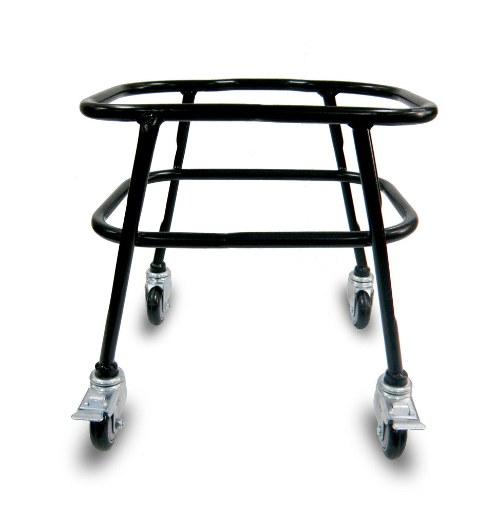 VersaCart Rolling Baskets Stand with Wheels & Brakes