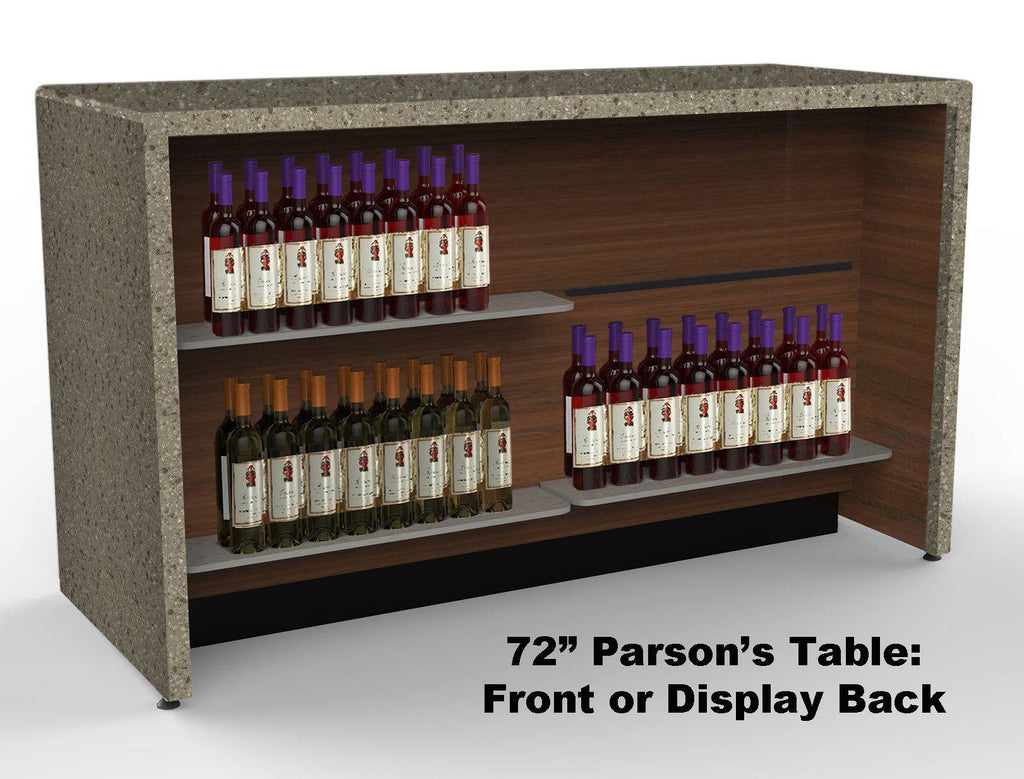 Parson's Counter / Tasting Bar: 72""