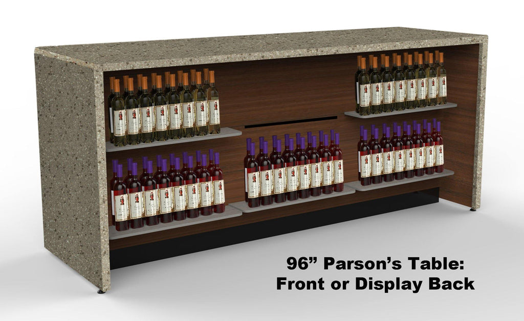 Parson's Counter / Tasting Bars: 96""