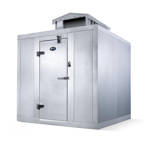 "Amerikooler Walk-In Storage Cooler OUTDOOR / No Floor / 6'W x 6'L x 7' 2.25""H - Modern Store Equipment 