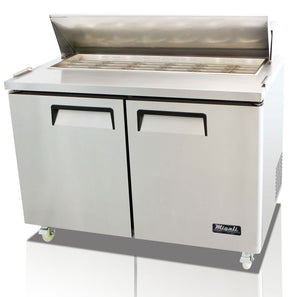 "Migali 48"" Big Top Sandwich Prep Table / C-SP48-18BT"