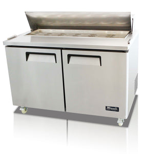 "Migali 60"" Standard Top Sandwich Prep Table / C-SP60-16"