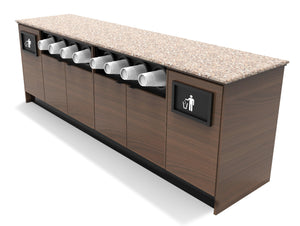 "MOCO Coffee / Beverage Prep Station: 96""L x 30""D"