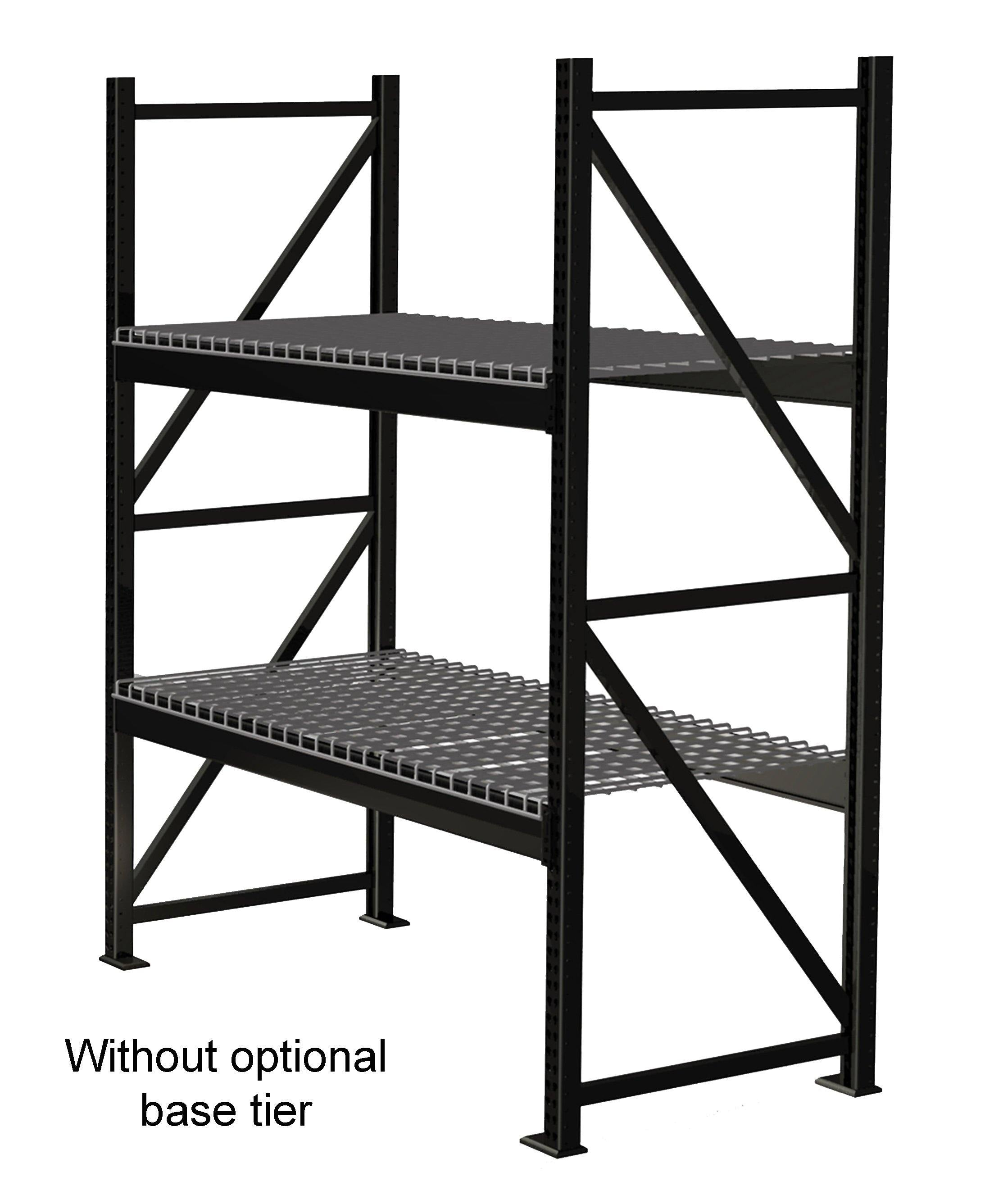 material inc accessories rack systems products selective handling pallet steelking steel king racks matrix