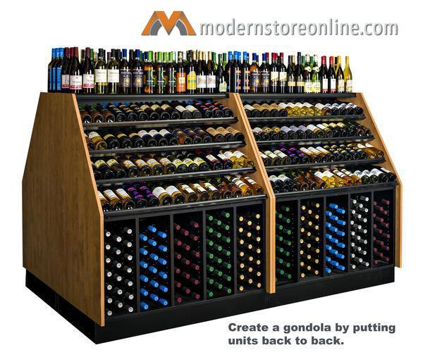high capacity wine merchandiser wine display - Beer Merchandiser
