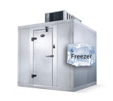 "Amerikooler Walk-In Storage Freezer / INDOOR / With Floor / 8'W x 10'L x 7'7""H - Modern Store Equipment 