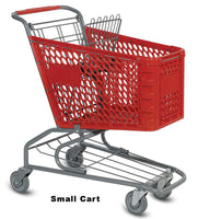 VersaCart Plastic Shopping Cart: Small