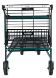 VersaCart EZ Tote 875 Flatbed Metal Shopping Cart