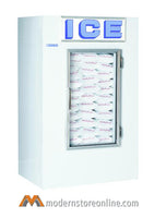 Polar Temp Indoor Single Door Ice Merchandiser / 420ADG / 48