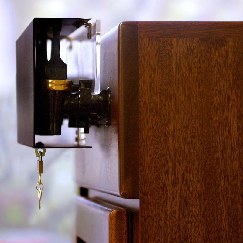 WineKeeper Locking Device - 6 Bottle Cabinets
