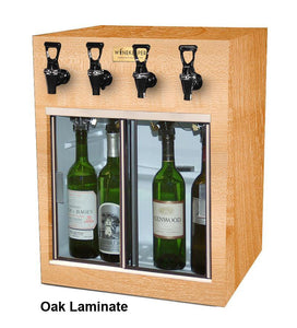 Monterey 4 Bottle WineKeeper for Red & White Wine