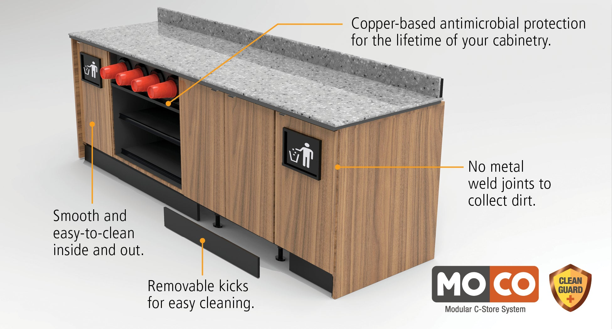 walk-in coolers for liquor, convenience and grocery stores