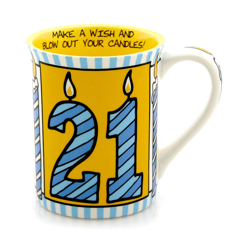 21 Poof Birthday Mug