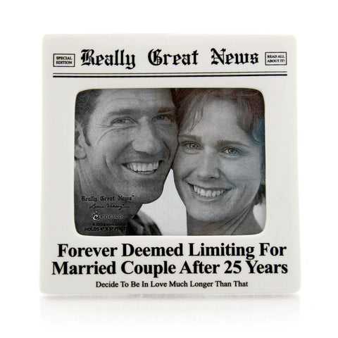 25 Years Photo Frame RGN