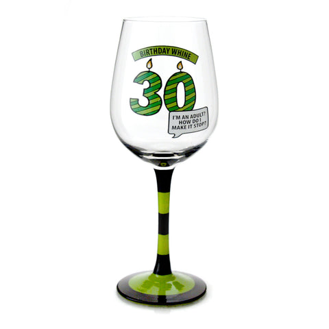 30 Birthday Whine Goblet