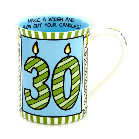 30 Poof Birthday Mug